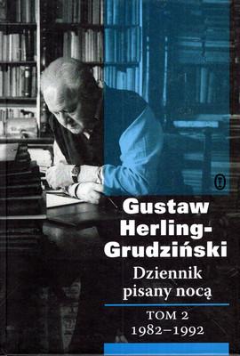 DZIENNIK PISANY NOCĄ - TOM 2 - 1982-1992