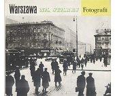 Szczegóły książki WARSZAWA NA STAREJ FOTOGRAFII