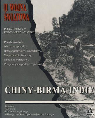 CHINY - BIRMA - INDIE