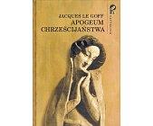 Szczegóły książki APOGEUM CHRZEŚCIJAŃSTWA