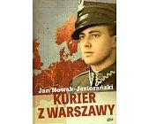 Szczegóły książki KURIER Z WARSZAWY