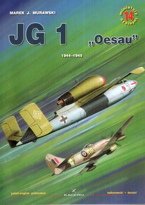 """JG 1 """"OESAU"""" 1944-1945 - MINIATURY LOTNICZE NR 14"""