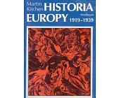 Szczegóły książki HISTORIA EUROPY 1919 - 1939