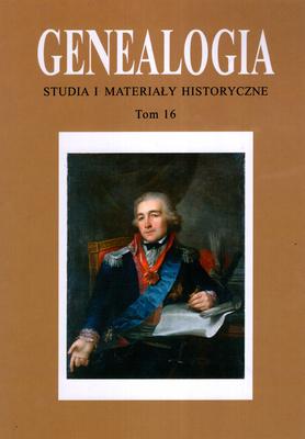 GENEALOGIA - TOM 16