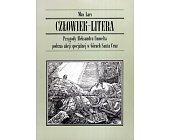 Szczegóły książki CZŁOWIEK LITERA