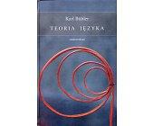 Szczegóły książki TEORIA JĘZYKA