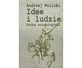 Szczegóły książki IDEE I LUDZIE. PRÓBA AUTOBIOGRAFII