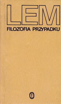 FILOZOFIA PRZYPADKU - 2 TOMY