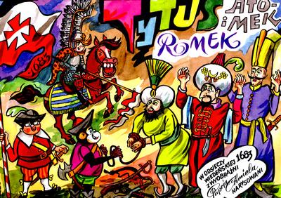 TYTUS ROMEK I ATOMEK W ODSIECZY WIEDEŃSKIEJ 1683