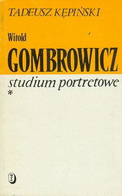 WITOLD GOMBROWICZ STUDIUM PORTRETOWE