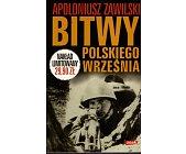 Szczegóły książki BITWY POLSKIEGO WRZEŚNIA
