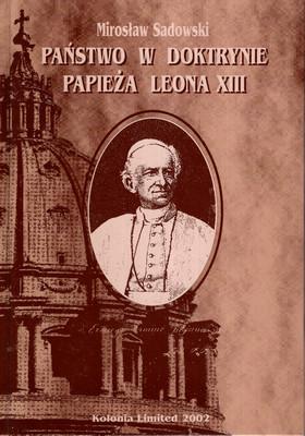 PAŃSTWO W DOKTRYNIE PAPIEŻA LEONA XIII
