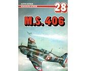 Szczegóły książki M. S. 406 - MONOGRAFIE LOTNICZE NR 28