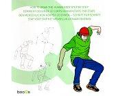 Szczegóły książki HOW TO DRAW THE HUMAN BODY STEP BY STEP