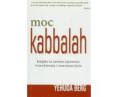 Szczegóły książki MOC KABBALAH