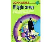 Szczegóły książki W TYGLU EUROPY