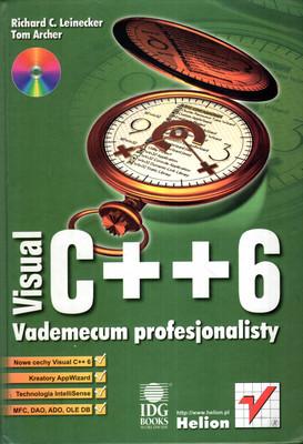 VISUAL C++6. VADEMECUM PROFESJONALISTY