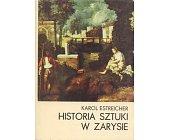 Szczegóły książki HISTORIA SZTUKI W ZARYSIE