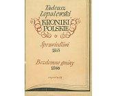 Szczegóły książki KRONIKI POLSKIE - 2 TOMY