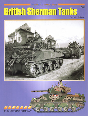 BRITISH SHERMAN TANKS (ARMOR AT WAR SERIES 7062)