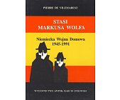Szczegóły książki STASI MARKUSA WOLFA