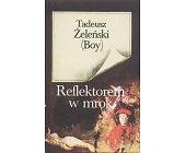 Szczegóły książki REFLEKTOREM W MROK
