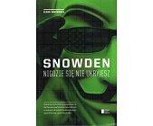 Szczegóły książki SNOWDEN. NIGDZIE SIĘ NIE UKRYJESZ