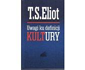 Szczegóły książki UWAGI KU DEFINICJI KULTURY