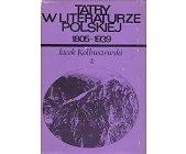 Szczegóły książki TATRY W LITERATURZE POLSKIEJ