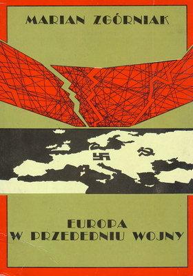 EUROPA W PRZEDEDNIU WOJNY