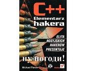Szczegóły książki C++ ELEMENTARZ HAKERA