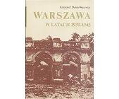 Szczegóły książki WARSZAWA W LATACH 1939 - 1945