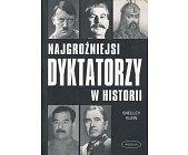 Szczegóły książki NAJGROŹNIEJSI DYKTATORZY W HISTORII