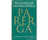Szczegóły książki PARERGA