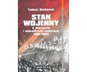 Szczegóły książki STAN WOJENNY W WARSZAWIE ...