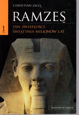 RAMZES - TOM 1 - SYN ŚWIATŁOŚCI. ŚWIĄTYNIA MILIONÓW LAT