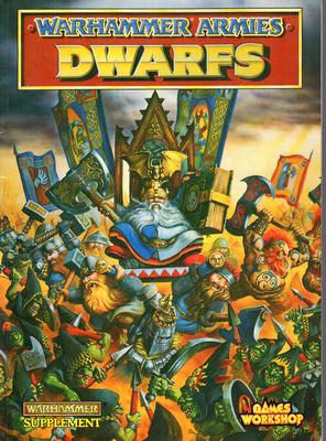 WARHAMMER ARMIES - DWARFS (RPG)