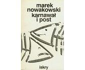 Szczegóły książki KARNAWAŁ I POST