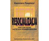 Szczegóły książki RESOCJALIZACJA