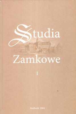 STUDIA ZAMKOWE - TOM 1