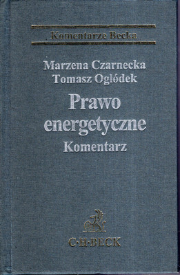 PRAWO ENERGETYCZNE - KOMENTARZ