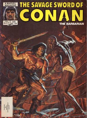 CONAN THE BARBARIAN (120)