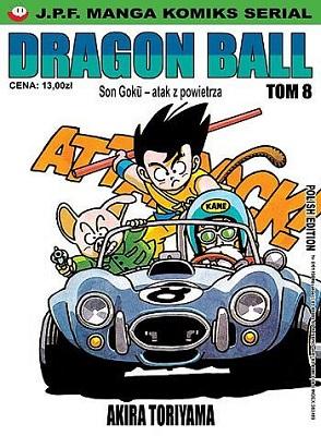 DRAGON BALL - TOM 8 - SON GOKU - ATAK Z POWIETRZA