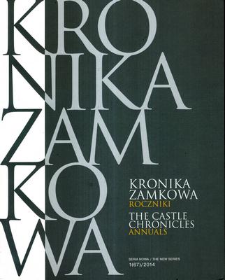 KRONIKA ZAMKOWA - ROCZNIKI