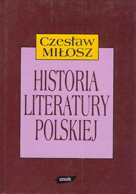 HISTORIA LITERATURY POLSKIEJ DO ROKU 1939