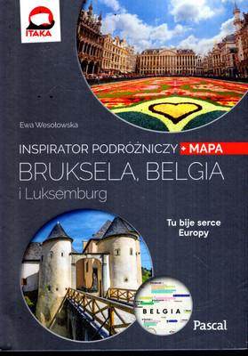 BRUKSELA, BELGIA, LUKSEMBURG - INSPIRATOR PODRÓŻNICZY