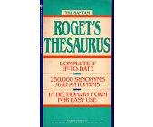 Szczegóły książki THE BANTAM ROGET'S THESAURUS