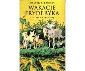 Szczegóły książki WAKACJE FRYDERYKA