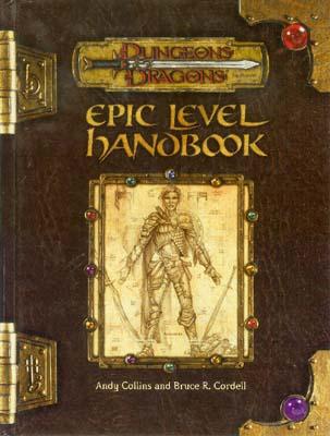 DUNGEONS DRAGONS - EPIC LEVEL HANDBOOK