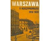 Szczegóły książki WARSZAWA II RZECZYPOSPOLITEJ - ZESZYT 1